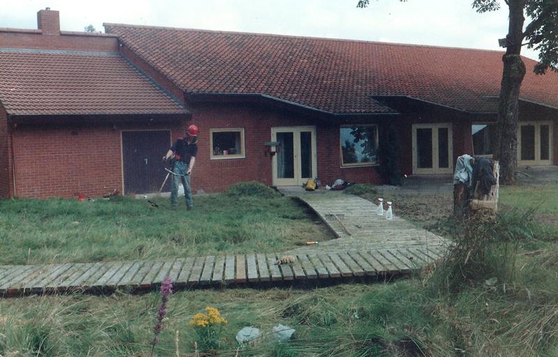 1991: St Ann's Hospice.