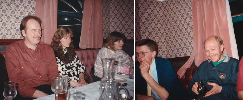 1993: Post Xmas Meal at The Nawab.