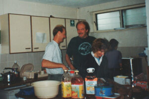 1993: Sefton, breakfast time.