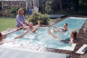2001: Dr John's pool.