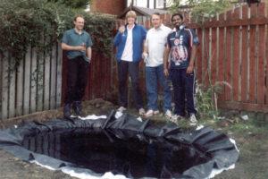 2005: Suresh's pond.
