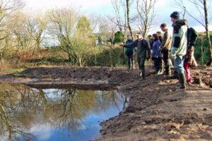 2006: Gravel Pits, pond work.