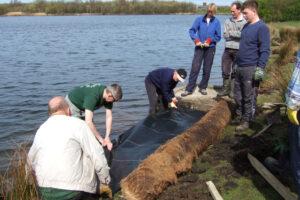 2006: Blackleach CP, erosion control.
