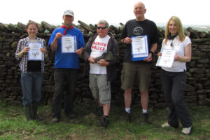 2013: Our first dry stone walling competition.